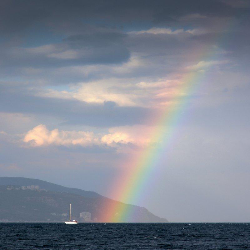 Проплывая под радугойphoto preview