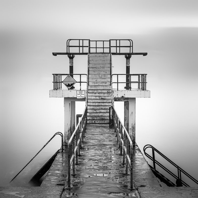 long exposure, longexposure, ireland, galway, salthill, fog Salthillphoto preview