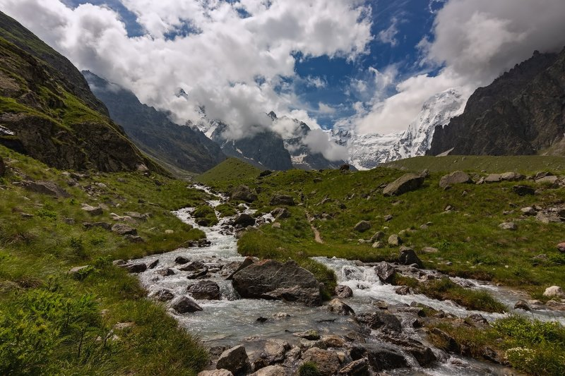 горы, альпинизм, кавказ, ледники ****photo preview