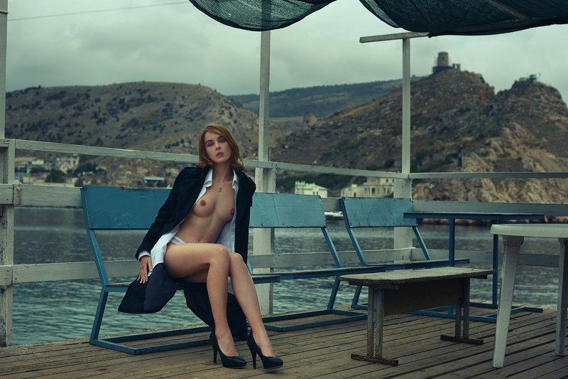 девушка, модель, ню Балаклаваphoto preview