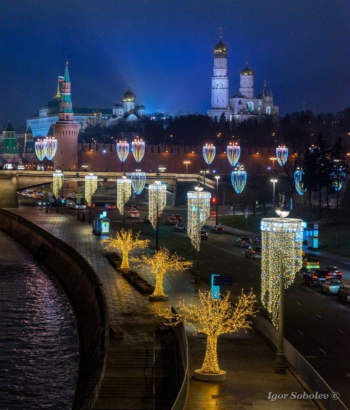 москва, новый год, зима, кремль Новогодняя Москваphoto preview