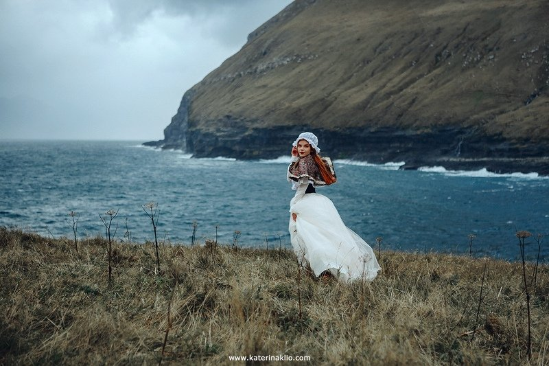 faroe, art, travel, country, life, fine art, island, ocean, woman, portrait, art, Faroe countryphoto preview