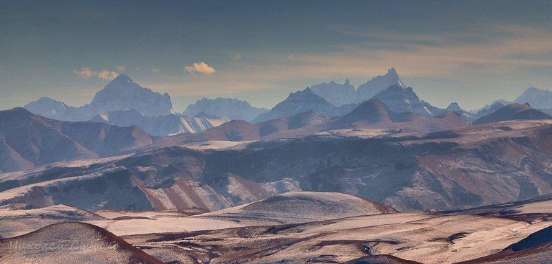 кавказ горы зима * * *photo preview