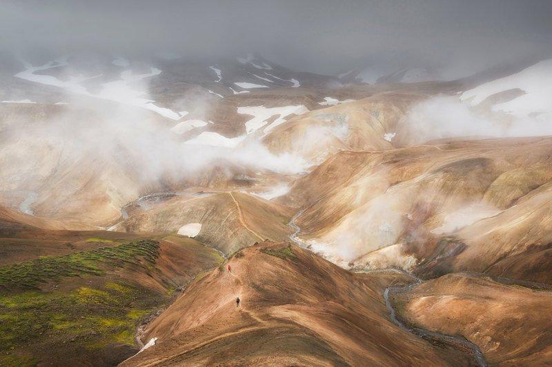 iceland, исландия, kerlingarfjöll, высокогорье исландии, icelandic highlands, highlands of iceland Затерянный мир. Высокогорье Исландииphoto preview