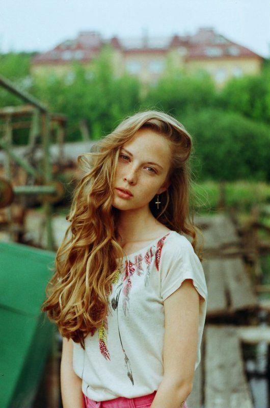 Beauty, Boat, Girl, Green, River, Summer Настя Глазуноваphoto preview
