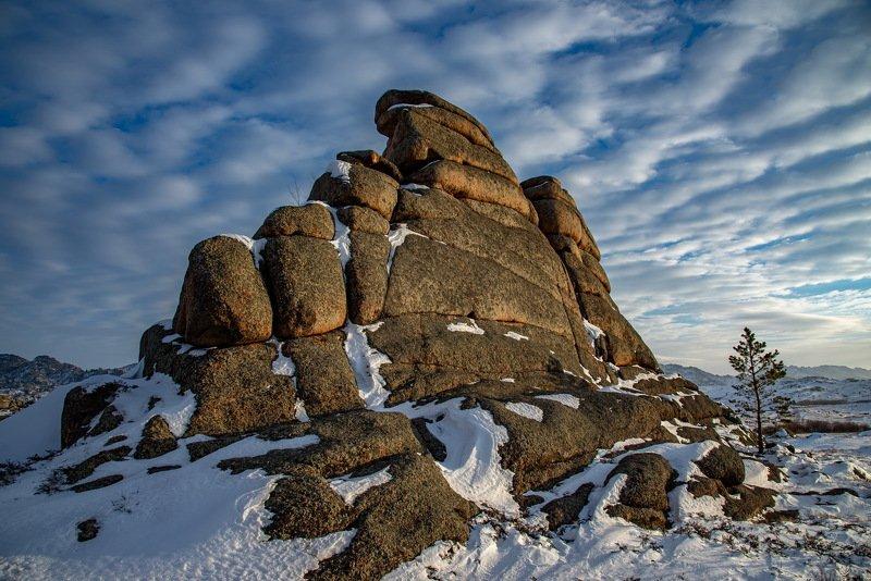 горы зима Баянаулphoto preview