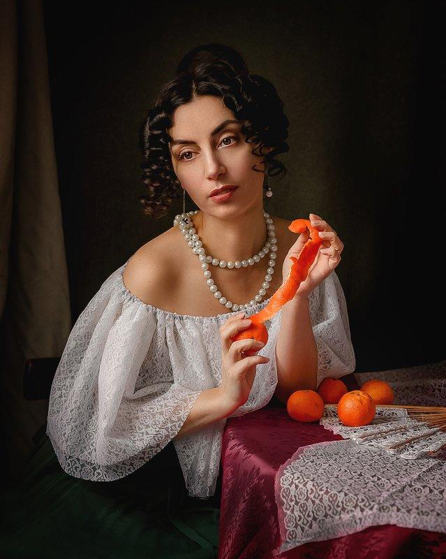 автопортрет, портрет, исторический образ, эклектика Мандариныphoto preview
