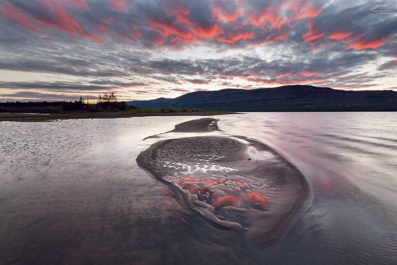 путораны, плато путорана Ночью полярного дняphoto preview
