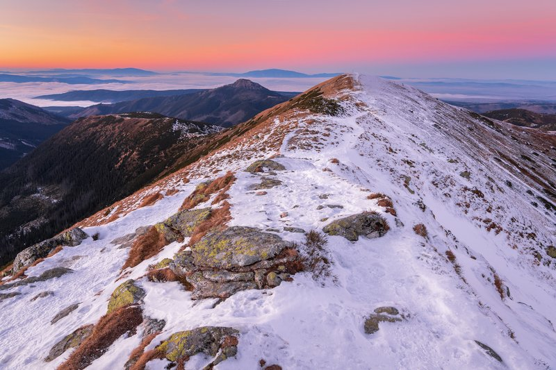 nature, landscape, colors, sunset, tatry Tatryphoto preview