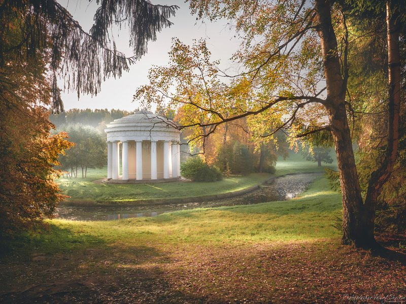 Павловский парк. Храм дружбыphoto preview