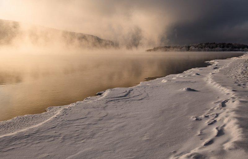 красноярск, енисей. Морозный Енисей.photo preview