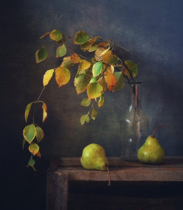 натюрморт,осень,груши из осени...photo preview