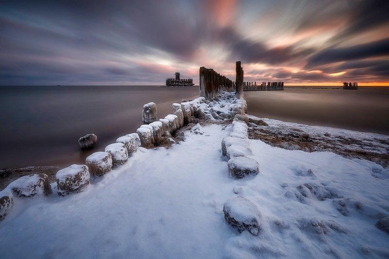 landscape Winter Baltic Seaphoto preview