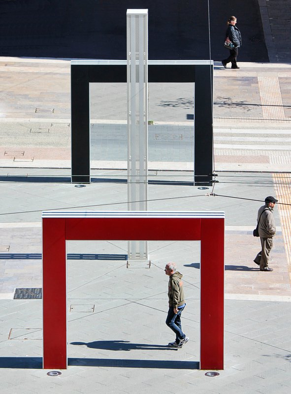 #street #architecture #city Italian squarephoto preview