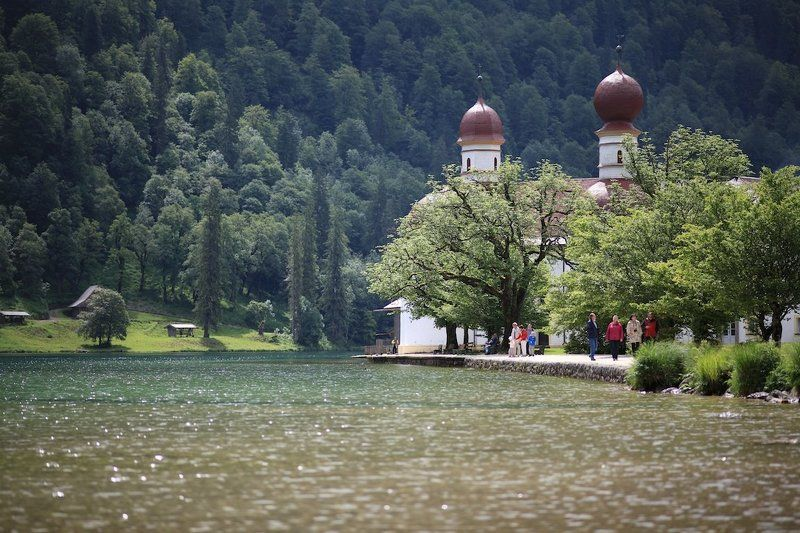 Озеро Кенигсзее (Германия)photo preview
