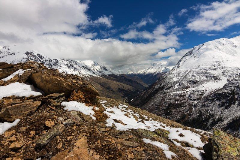 горы,восхождение,кавказ,облака mountain country....photo preview