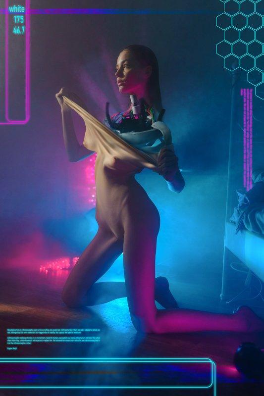 cyberpunk, nude, 2020, beautiful, girl, model, ню, девушка, модель Cyberpunkphoto preview