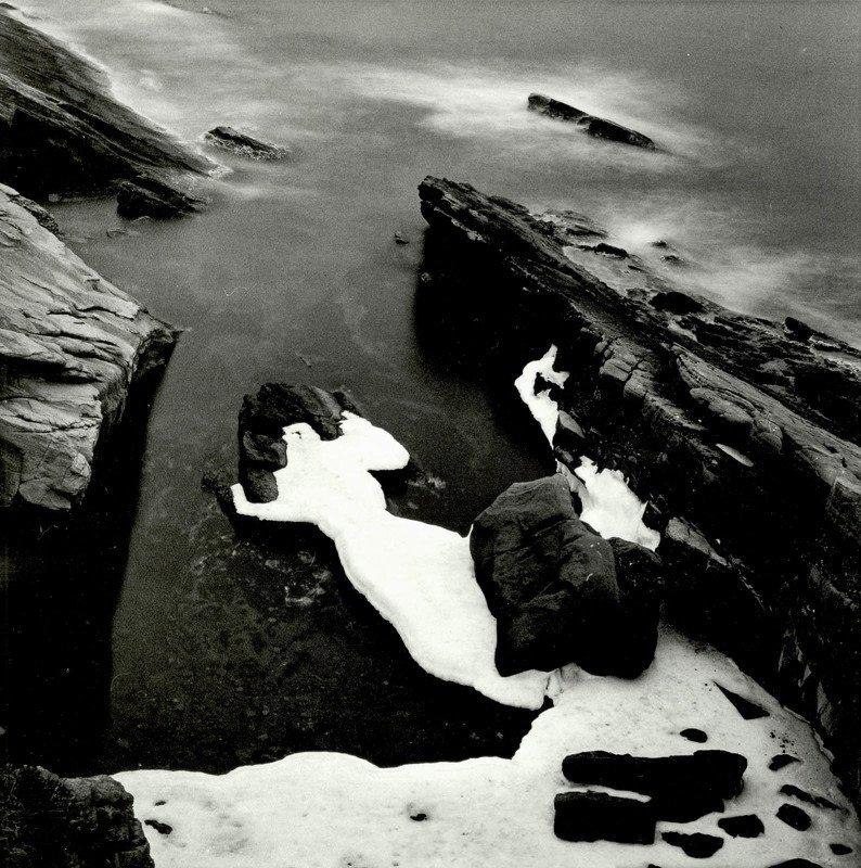 filmphotography, analogphotography, darkroomphotography, silvergelatineprint, b&w, blackandwhite Lady in Whitephoto preview