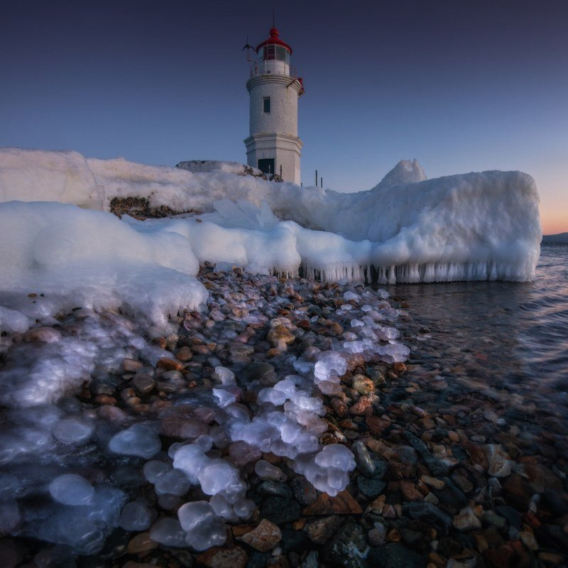 владивосток, приморье Владивосток. Токаревский маяк.photo preview