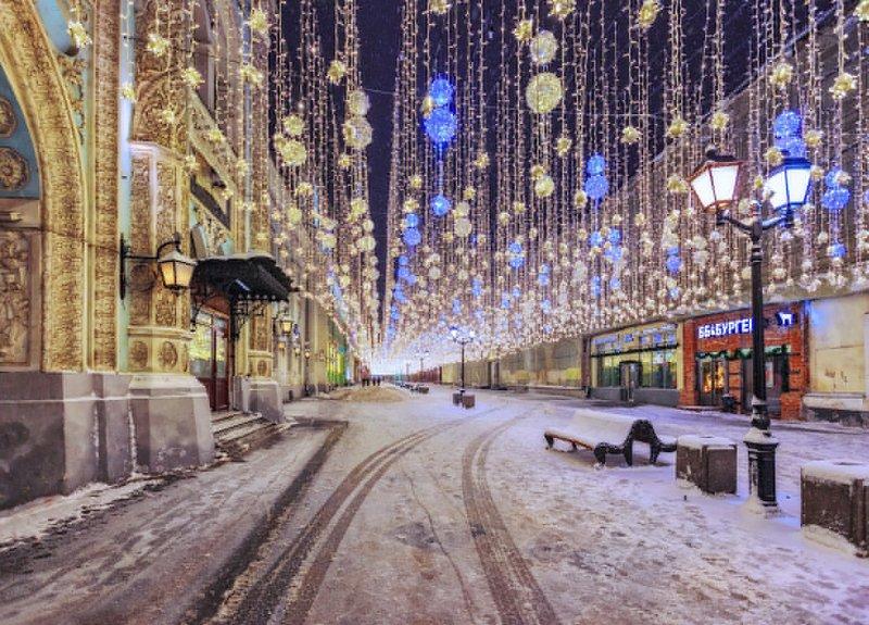 новый год, москва, никольская С Новым годом!!!photo preview