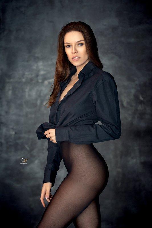 портрет, студия, девушка, москва, фотограф Ангелинаphoto preview