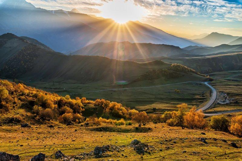 Ингушетия, горы, осень Осень в горах Ингушетииphoto preview