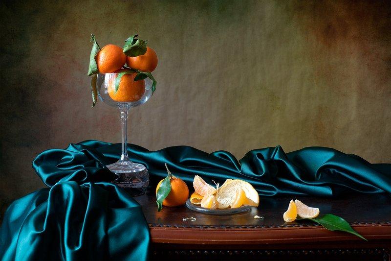 фотонатюрморт, миламиронова, мандарины, запах, новый год, настроение Запах мандаринов...photo preview