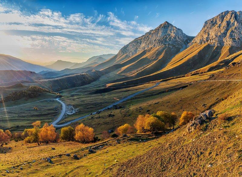 Ингушетия, горы, перевал, Цей-Лоам, осень Перевал Цей-Лоамphoto preview