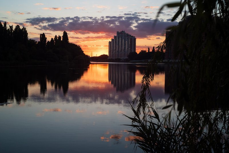 озеро карасун Вечер у Карасунаphoto preview