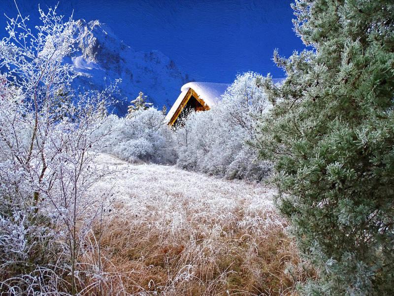 digital art Мороз и солнце...photo preview