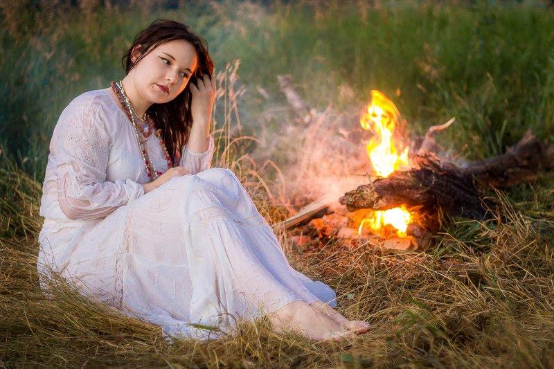 фотограф Лисичанск, портрет, девушка, фотосессия на природе На Ивана Купалаphoto preview