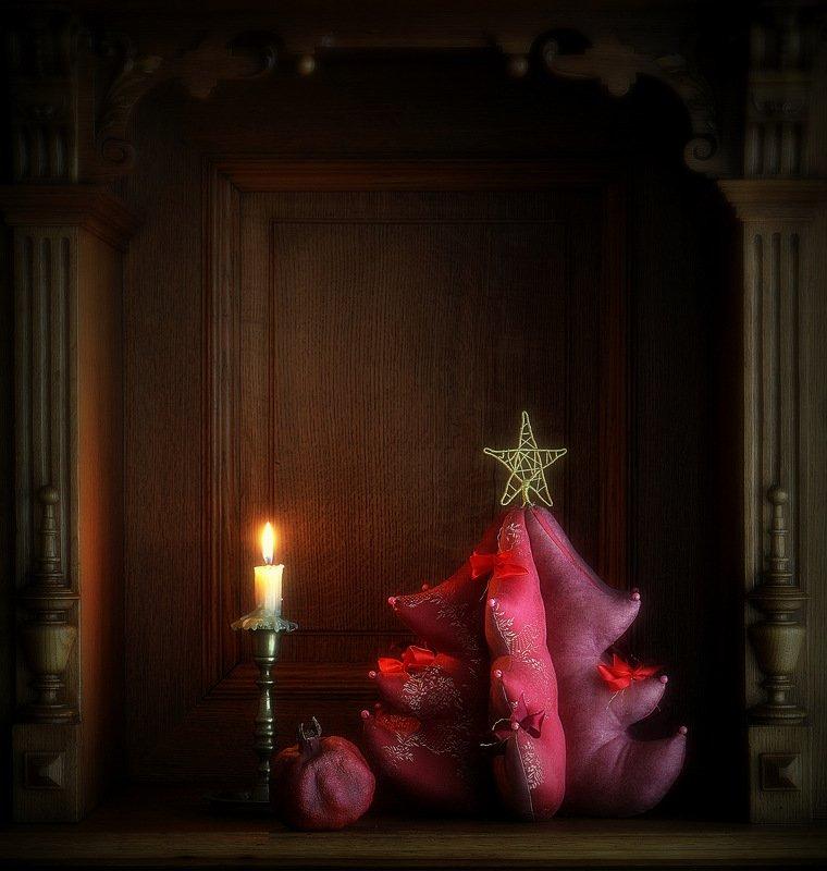 сергей алексеев, натюрморт Рождественская ниша. С Рождеством!photo preview
