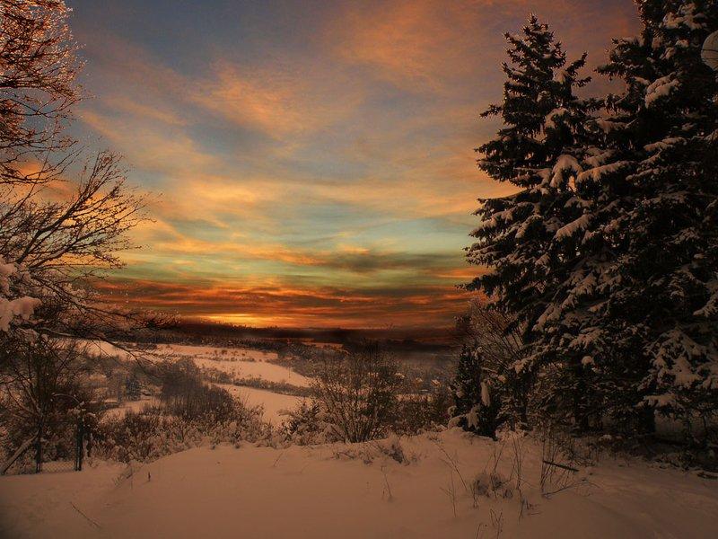 digital art Зимний рассветphoto preview