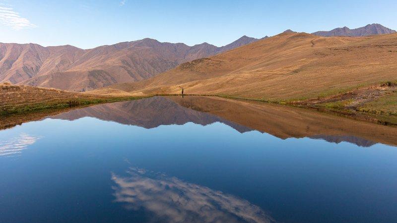дагестан, ночная съёмка, горы, путешествия, россия, пейзаж, кавказ, valius Горное озероphoto preview