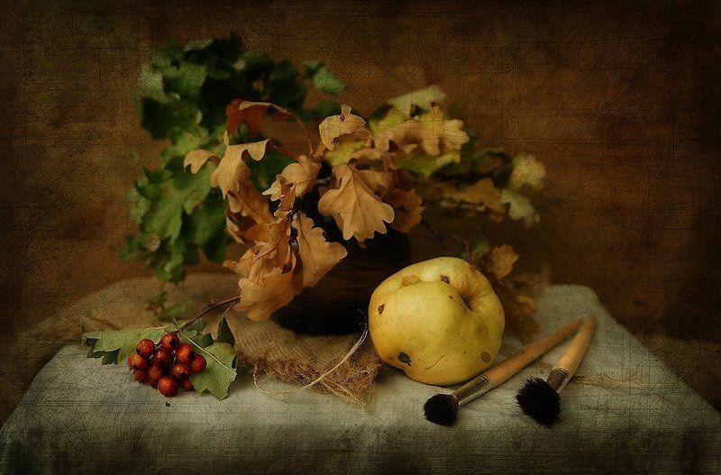Художница осень...photo preview