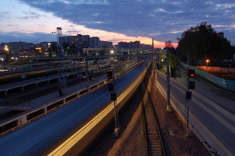 железнодорожный, станция, вокзал, поезда Железнодорожныйphoto preview