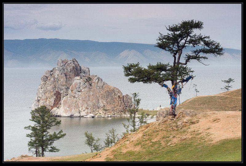 озеро, байкал, остров, ольхон, мыс, бурхан, скала, шаманка, lenchik&fanizzz, fanizzz, faniz Шаманкаphoto preview