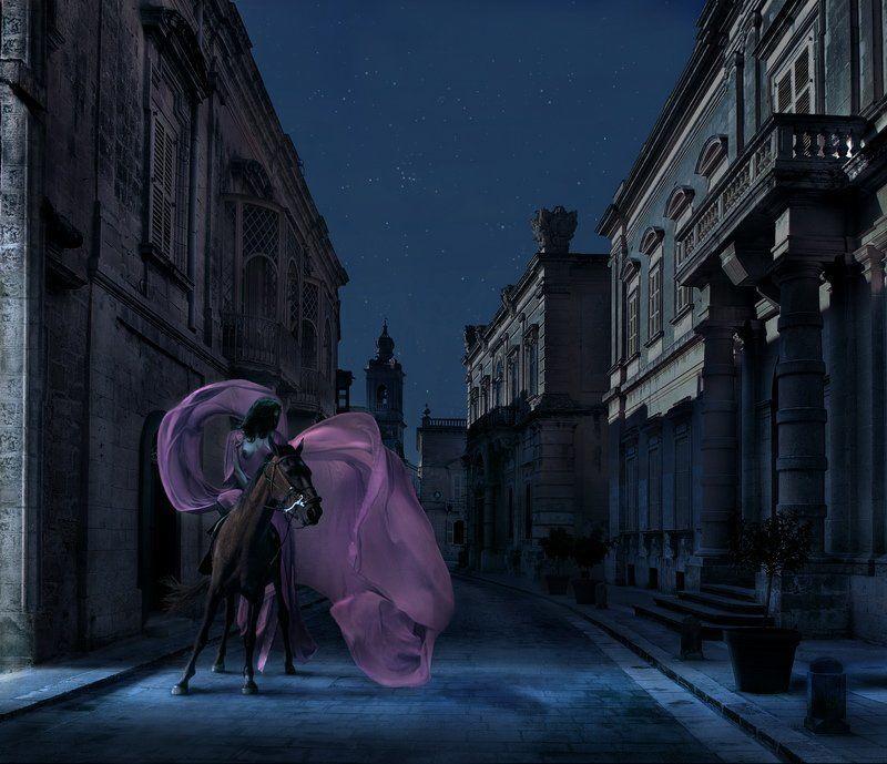 мальта, валетта, модель Night fairyphoto preview