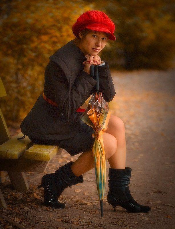 девушка, осень, природа, портрет, настроение Настоящая осеньphoto preview