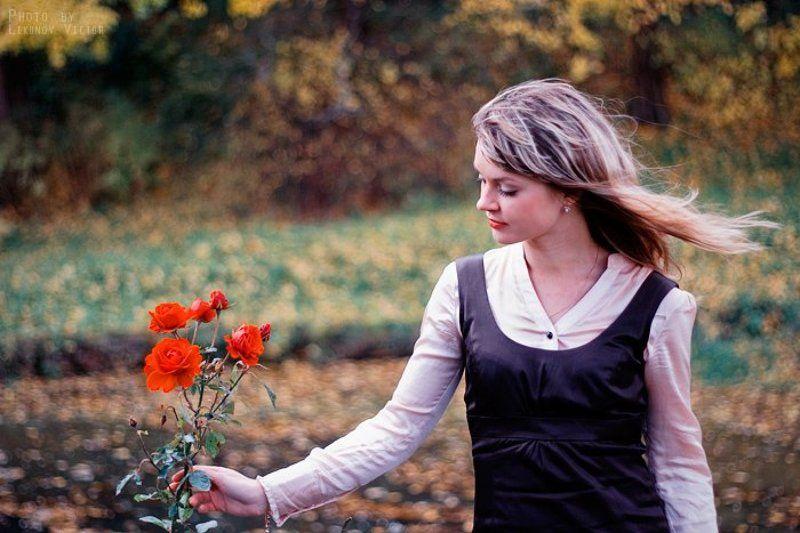 autumn, portrait, портрет, осень, настроение, mood Autumn mood | 2photo preview
