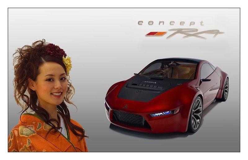 автосалон, 2008, mitsubishi-ra, концепт Автосалон 2008 - Mitsubishi-RAphoto preview