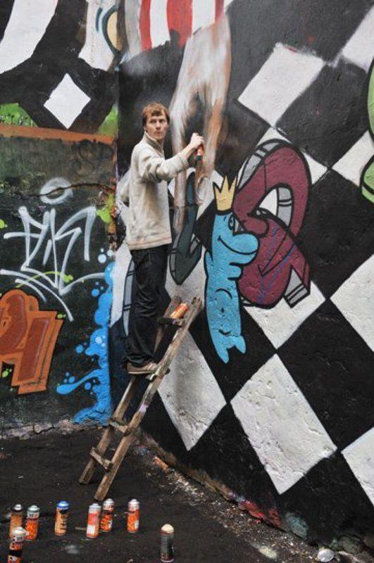 граффити, двор, питер Граффити от Василияphoto preview