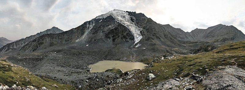алтай, долина семи озёр Ледник и Грязное озероphoto preview