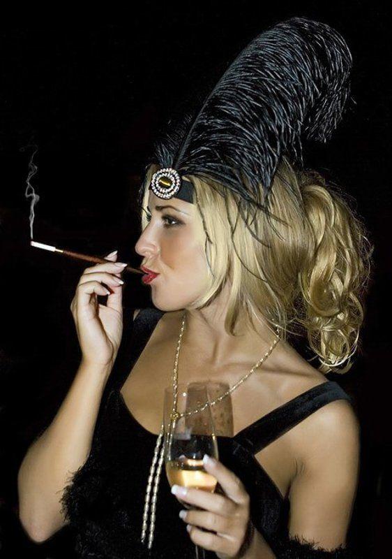 джаз, сигарета, курит, минздрав, предупреждает, чикаго В джазе только девушкаphoto preview