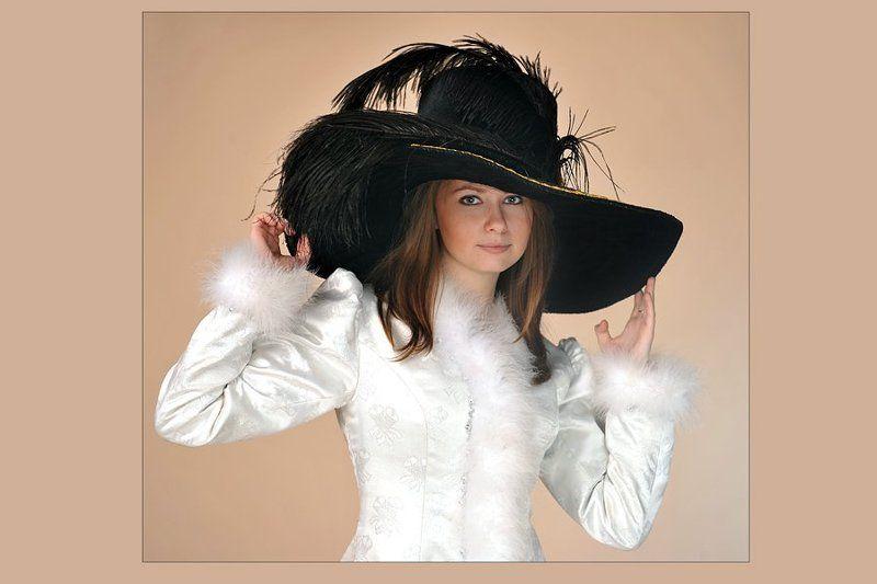 модель, глафира Новая шляпкаphoto preview