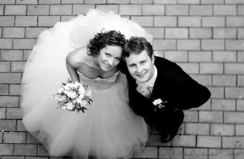 свадьба, любовь, чб Бракphoto preview
