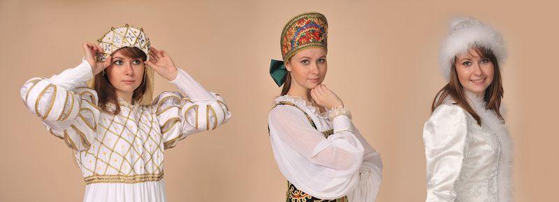 историческй, театральный, карнавальный, костюм Триоphoto preview