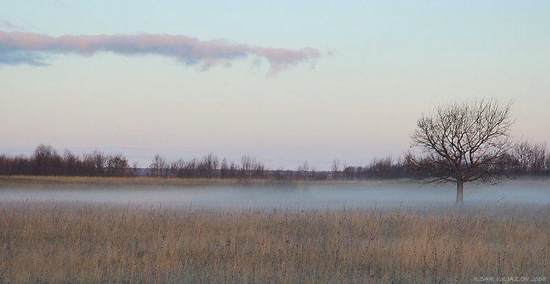 утро, туман, рассвет, ильдар, гилязов ***photo preview