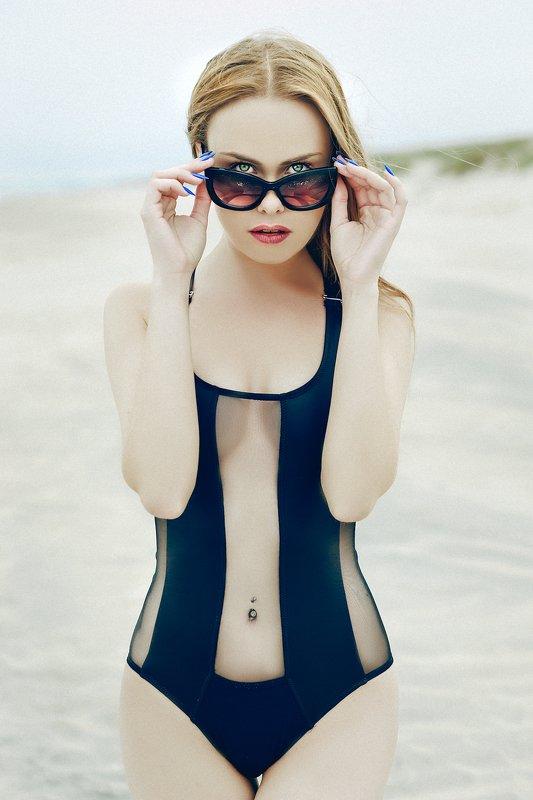 woman, portrait, fashion, beauty, beach, summer Beach Daysphoto preview