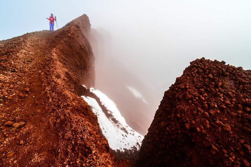 вершина, ландшафт, пейзаж, вулкан, авачинский камчатка Вершинаphoto preview